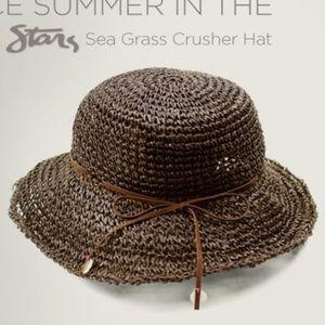 Michael Stars Sea Grass Crusher Beach Sun Hat
